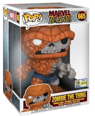 "Funko Pop! Marvel Zombie The Thing (10"") Stock"