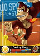 Amiibo Cards Mario Sports Superstars Donkey Kong - Tennis