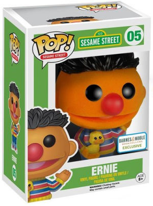 Funko Pop! Sesame Street Ernie (Flocked) Stock