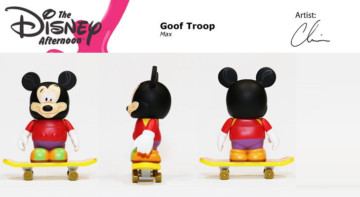 Vinylmation Open And Misc Disney Afternoon Max Goof