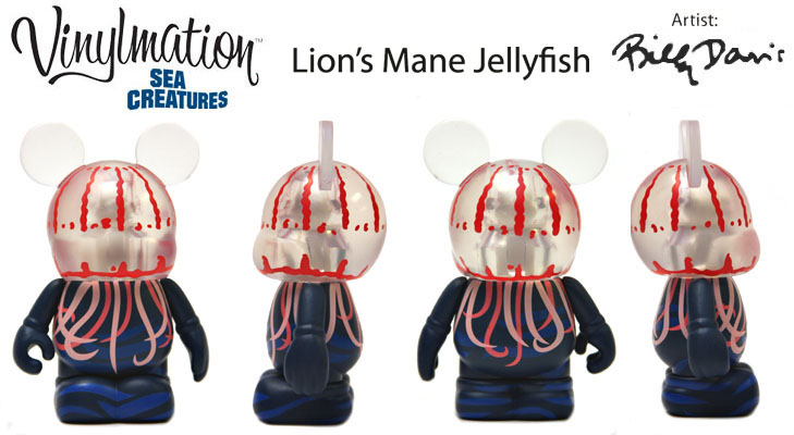 Vinylmation Open And Misc Sea Creatures Lion's Mane Jellyfish