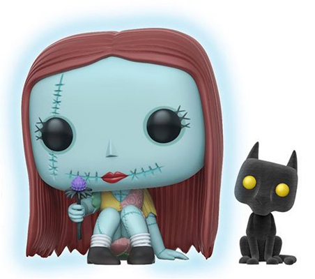 Funko Pop! Disney Sally (Seated) - Glow/Flocked