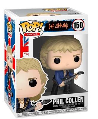 Funko Pop! Rocks Phil Collen Stock