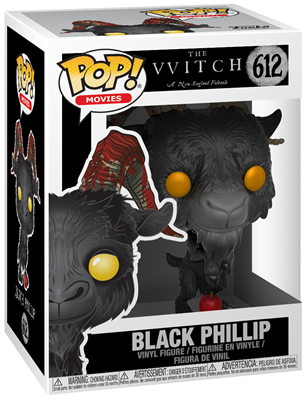 Funko Pop! Movies Black Phillip Stock