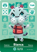 Amiibo Cards Animal Crossing Series 2 Bianca