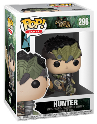 Funko Pop! Games Hunter Stock