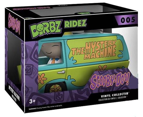 Dorbz Dorbz Ridez Fred (w/ The Mystery Machine) Stock