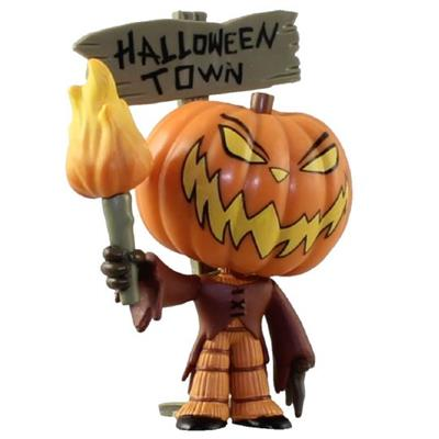 Mystery Minis Nightmare Before Christmas Series 2 Pumpkin King (Sign) Stock
