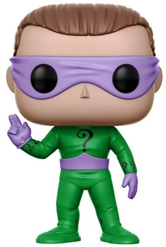 Funko Pop! Heroes The Riddler (Classic TV) Icon