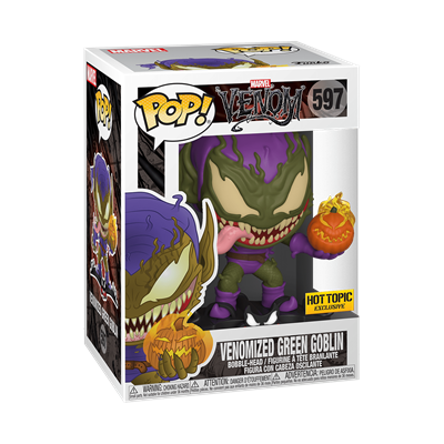 Funko Pop! Marvel Venomized Green Goblin Stock Thumb