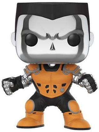 Funko Pop! Marvel Colossus (X-Force) - Chrome Icon