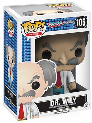 Funko Pop! Games Dr. Wily Stock