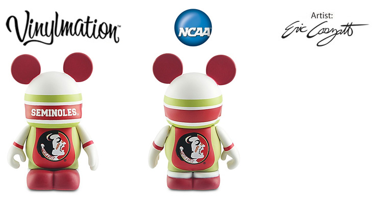 Vinylmation Open And Misc College Florida State Seminoles