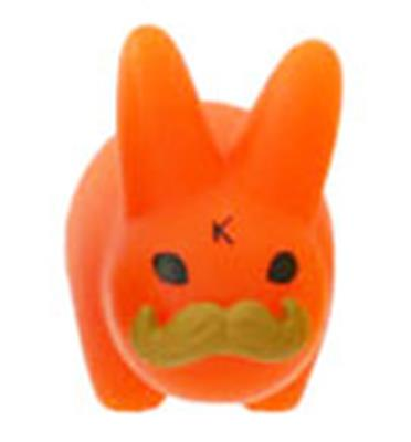 Kid Robot Labbit Packs Pride Labbits: Orange Stock