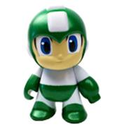 Kid Robot Art Figures Mega Man (Green)