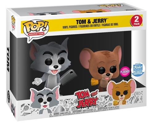 Funko Pop! Animation Tom and Jerry (Flocked) Stock