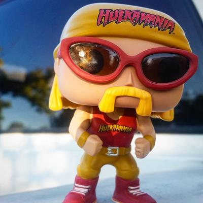 Funko Pop! Wrestling Hulk Hogan (Yellow Shirt) funko_freakout on instagram.com