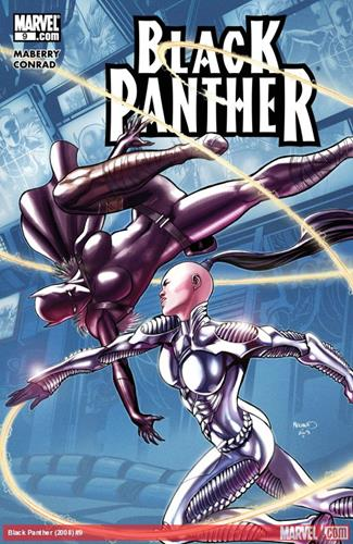 Marvel Comics Black Panther (2008 - 2010) Black Panther (2008) #9 Icon Thumb
