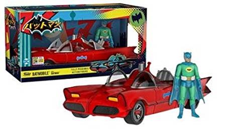 Funko - Other Action Figures Red Batmobile with Green Blue Batman