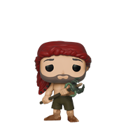 Funko Pop! Movies Chuck holding a spear w/ crab