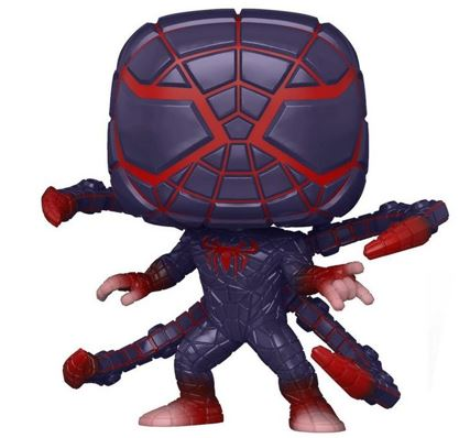 Funko Pop! Marvel Miles Morales Programmable Matter Suit (Glows in the Dark) Icon