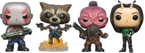 Funko Pop! Marvel Drax, Rocket, Taserface, & Mantis (Vol. 2) (4-Pack)