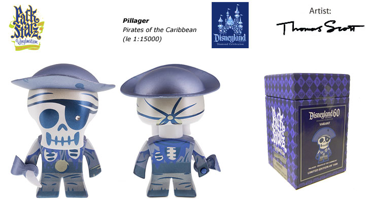 Vinylmation Open And Misc 60th Diamond Celebration Pillager - Pirates Of The Caribbean