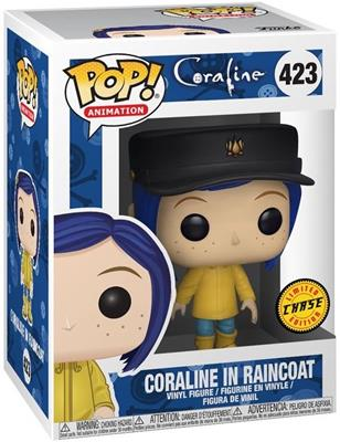 Funko Pop! Animation Coraline in Raincoat (Chase) Stock