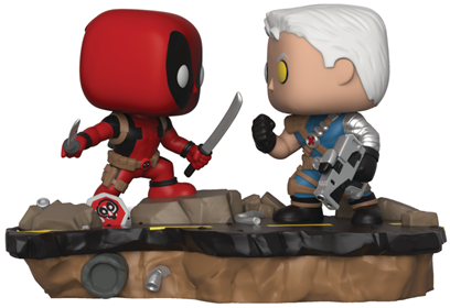 Funko Pop! Marvel Deadpool vs. Cable