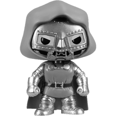 Funko Pop! Marvel Dr. Doom (Black & White)