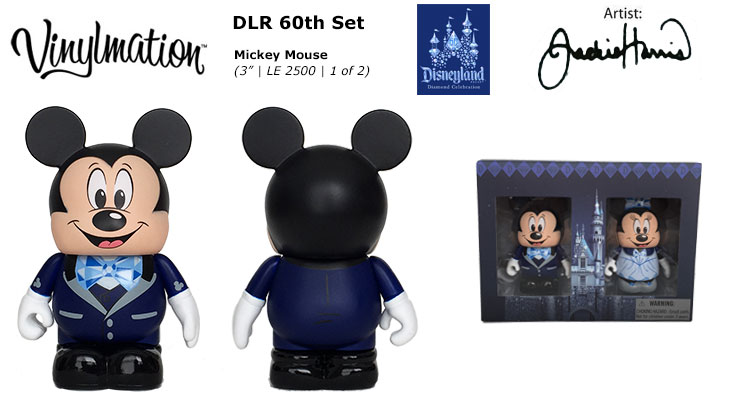 Vinylmation Open And Misc 60th Diamond Celebration Mickey Mouse