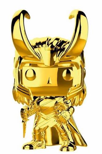 Funko Pop! Marvel Loki (Gold Chrome)