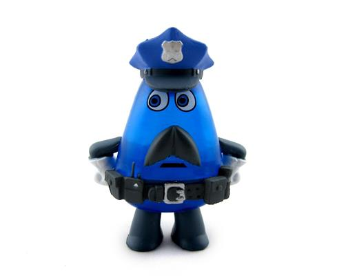 Mystery Minis Inside Out Mind Worker Cop Jake Icon
