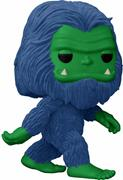 Funko Pop! Myths Bigfoot (Flocked) - Blue & Green