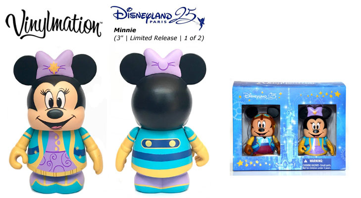 Vinylmation Open And Misc 25th Anniversary Minnie Mouse