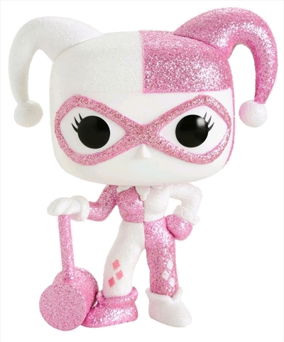 Funko Pop! Heroes Harley Quinn with Mallet (Pink Diamond) Icon