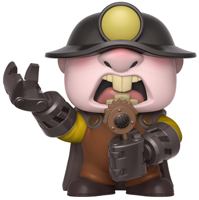 Funko Pop! Disney Underminer