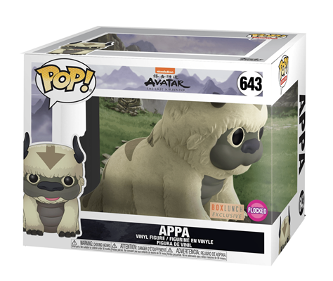 Funko Pop! Animation Appa (6 inch) (Flocked) Stock