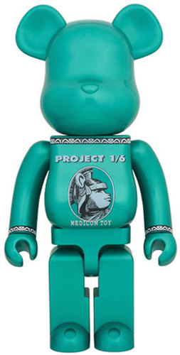 Be@rbrick Misc Project 1/6 Centurion (Green) 1000% Icon