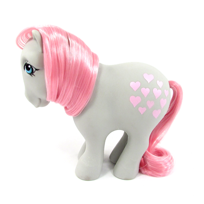 My Little Pony Year 01 Snuzzle - Concave Hoof Icon
