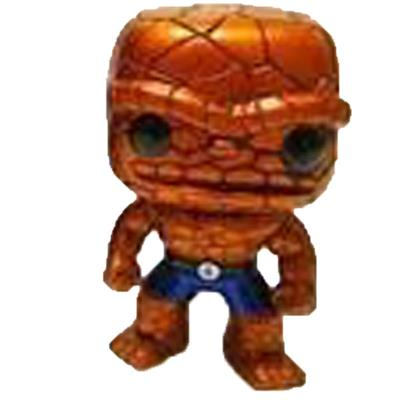 Funko Pop! Marvel The Thing (Metallic) (Black Eyes)