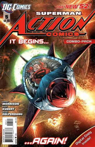 DC Comics Action Comics (2011 - 2016) Action Comics (2011) #5B Stock