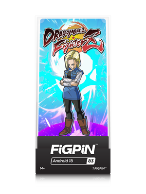 FiGPin Dragon Ball FighterZ Android 18 Stock