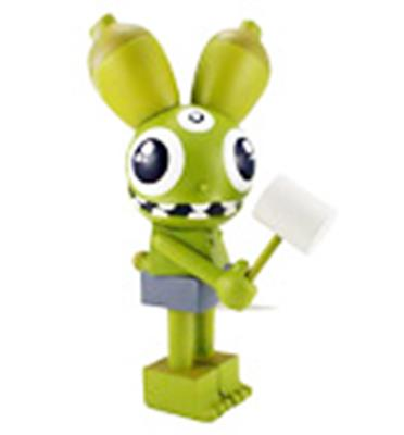 Kid Robot Art Figures Space Monkey: Green Icon