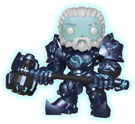 Funko Pop! Games Reinhardt (Glow) - 6""