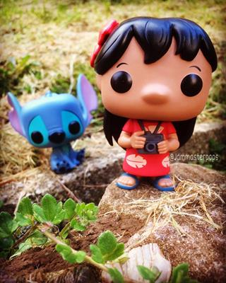 Funko Pop! Disney Lilo jammasterpops on instagram.com