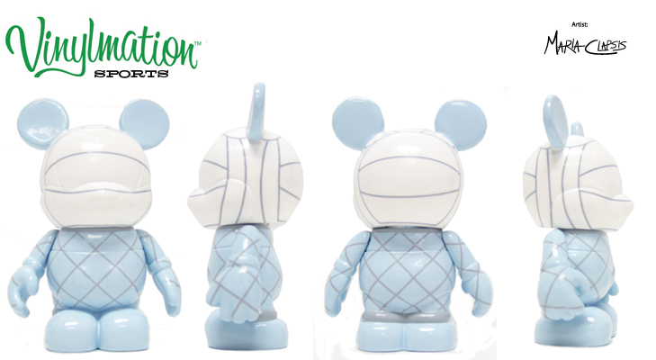 Vinylmation Open And Misc Sports Volleyball