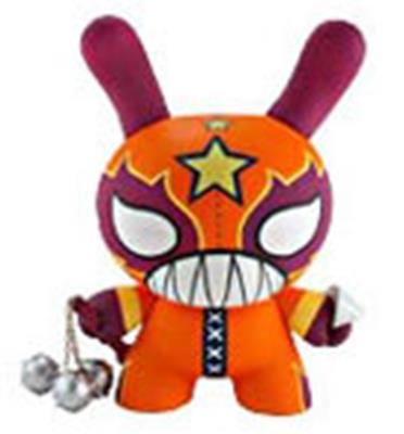 "Kid Robot 8"" Dunnys El Loco (Orange)"