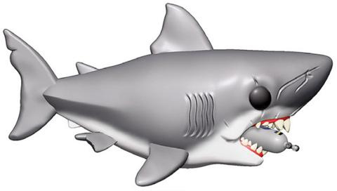 """Funko Pop! Movies 6"""" Pop! Jaws w/ Diving Tank Icon"""