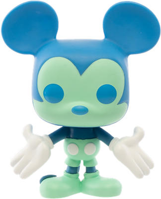 Funko Pop! Disney Mickey Mouse (Colorway - Blue/Green)
